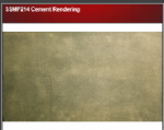 Wills SSMP214 Cement Rendering